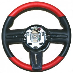 New! Custom Leather Wrapped Steering Wheel With Core Provided